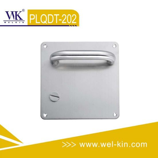 Stainless Steel Door Lever Handle on Plate (PLQDT-202)