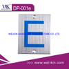 Stainless Steel Number Sign Plate (DP-001e)