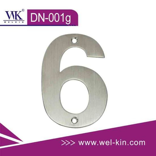 Stainless Steel 304 Door Number (DN-001g)