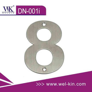 Inox 304 Door Number Plate (DN-001I)