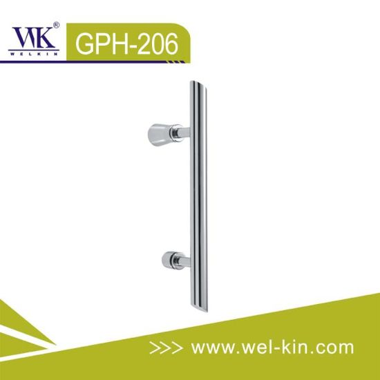 Stainless Steel 304 Glass Tube Pull Handles (GPH-206)