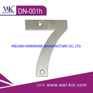 Stainless Steel Numbers for Door and Any Public Buildings (DN-001h)