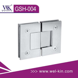 96h Salt Spray Test Stainless304 Glass Hinge 180 Polish (GSH-004)